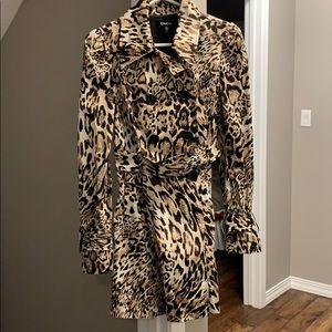 Bebe Leopard Jacket